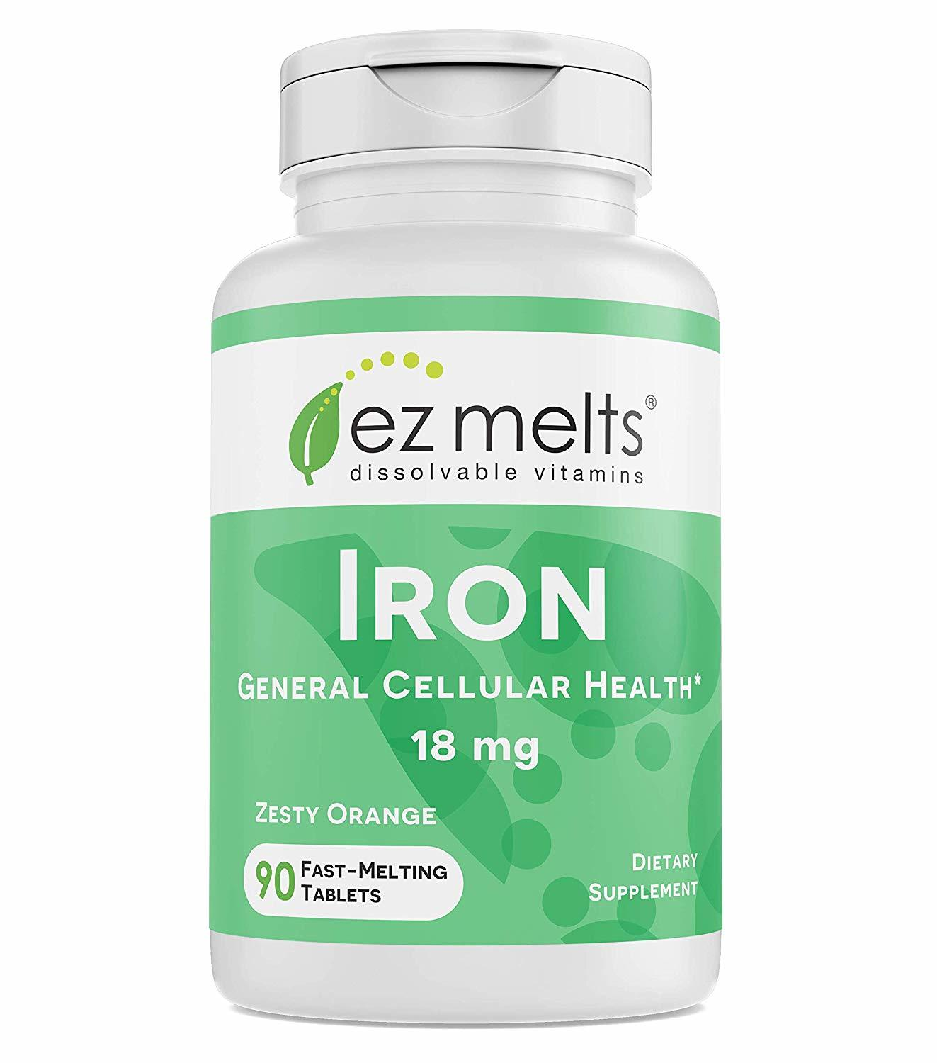 vegan iron supplement