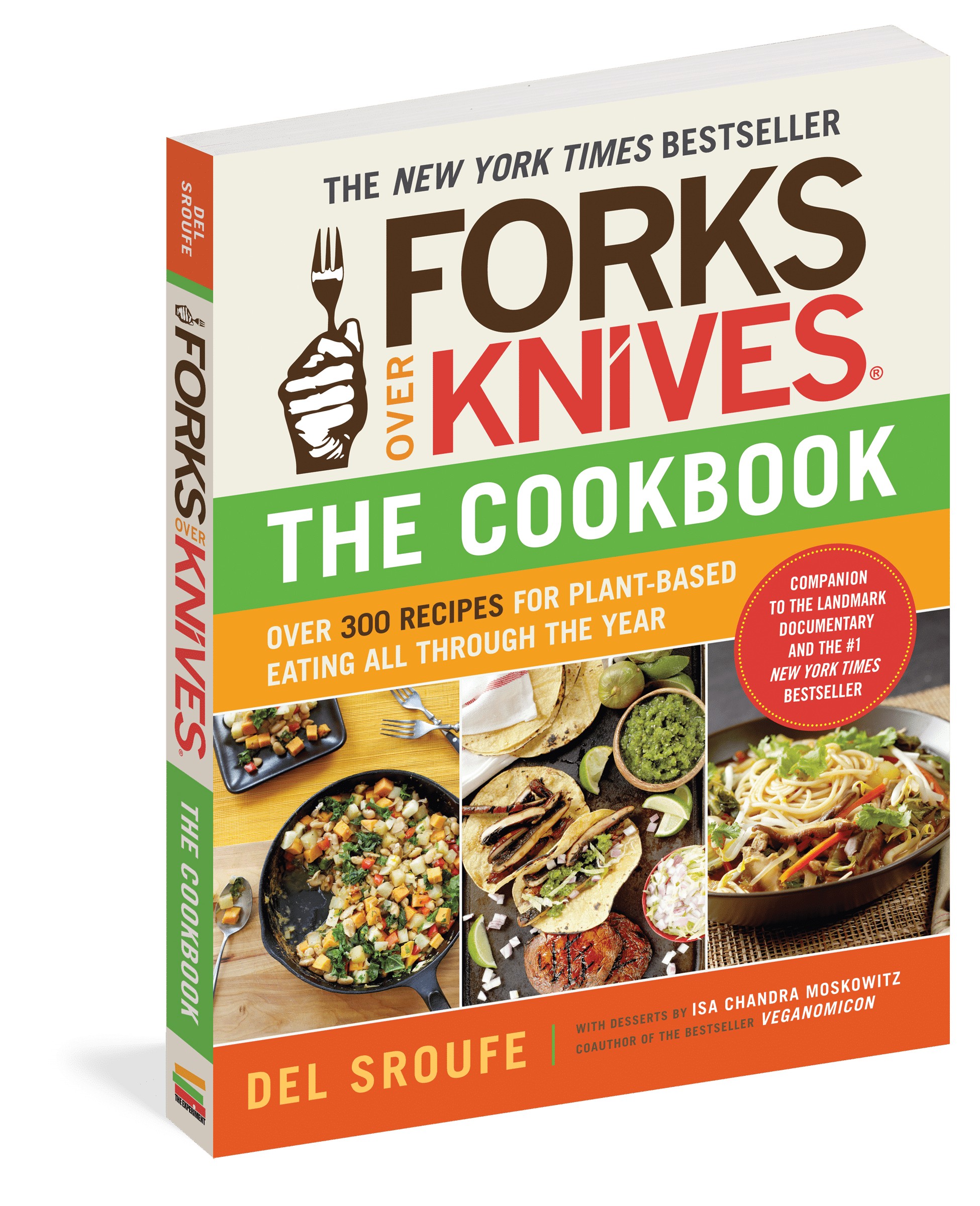 forks over knives cookbook