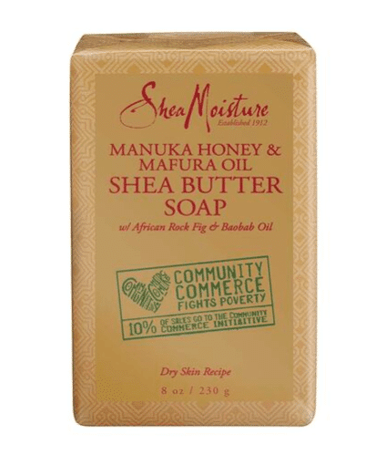 Shea Moisture honey soap
