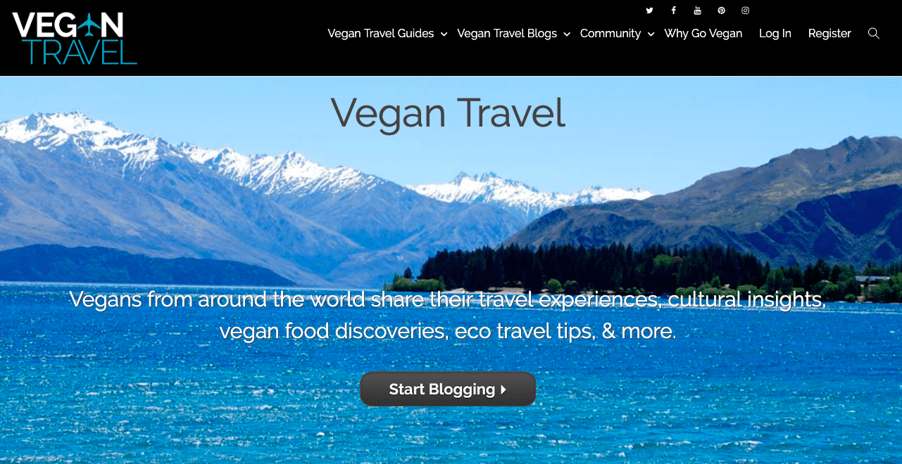 vegan travel