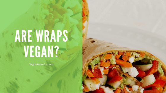 are wraps vegan
