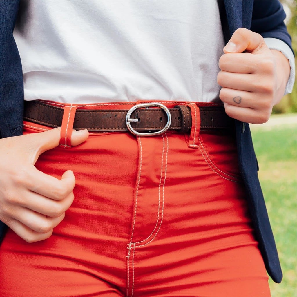 corkor women vegan belt