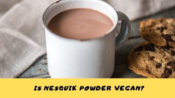 is nesquik powder vegan