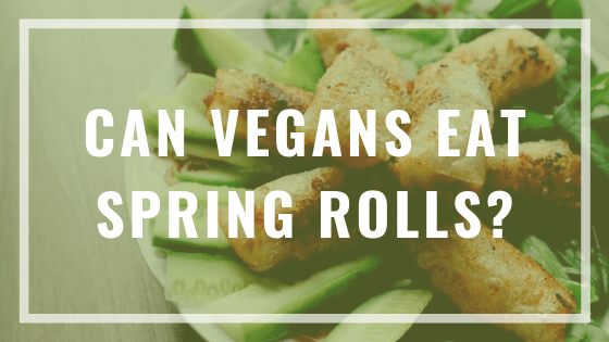 can vegans eat spring rolls?