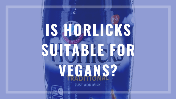 is horlicks vegan