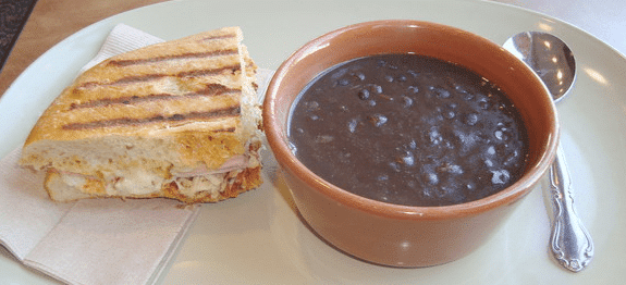 black bean soup panera bread