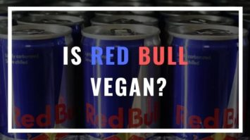 is red bull vegan?