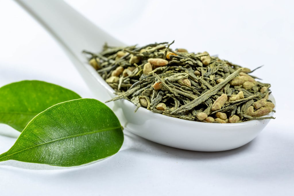 an image of green tea to illustrate green tea extract