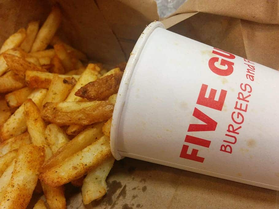Every Vegan Option At Five Guys (Updated: 2021)