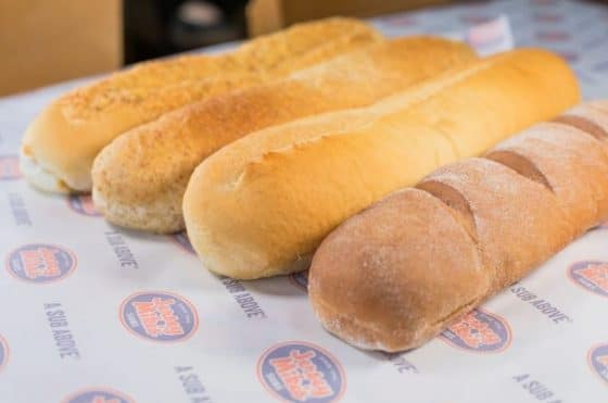 Jersey Mike's bread