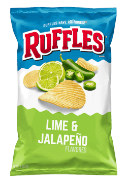 lime and jalapeno ruffles