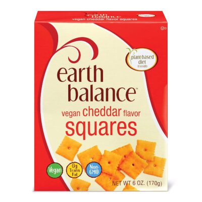 earth balance vegan cheese squares
