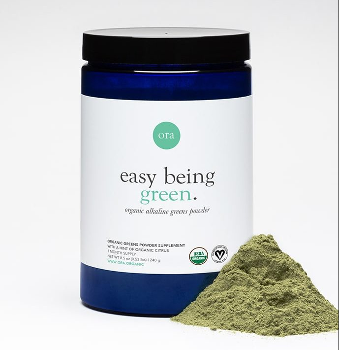 greens powder by ora organic