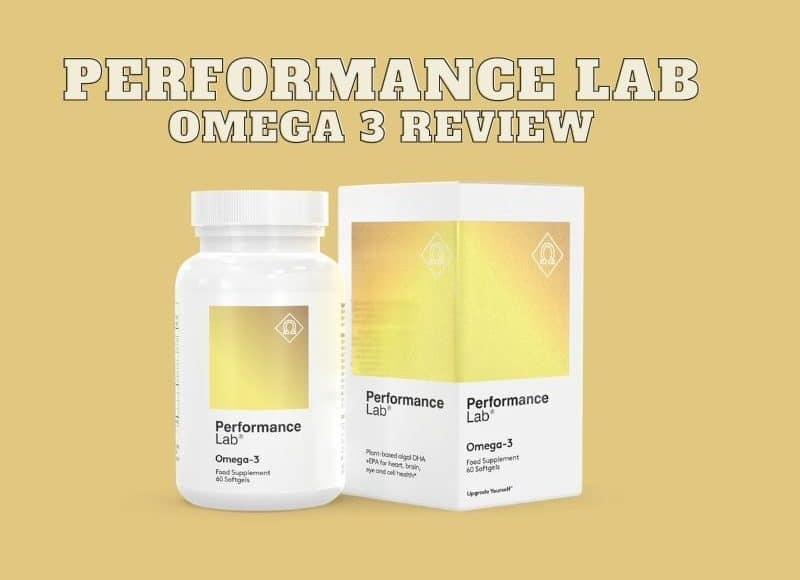 Performance Lab Omega 3 Review – An Awesome Fish Oil Alternative?